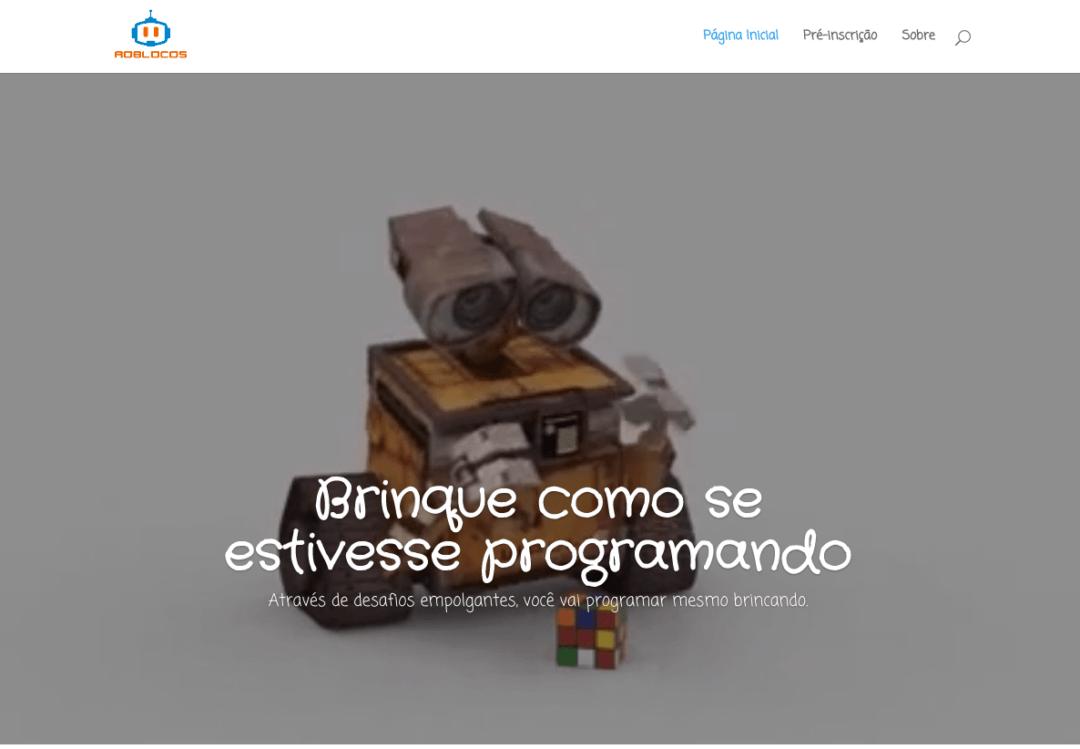 Imagem do Site Roblocos